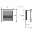 MMotors MM-100 квадрат (30 мм)