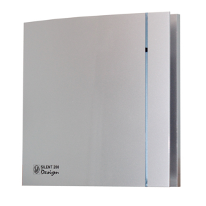 Soler & Palau Silent 200 CRZ Design-3C silver (с таймером)