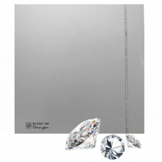 Soler & Palau Silent 100 CZ Design silver Swarovski